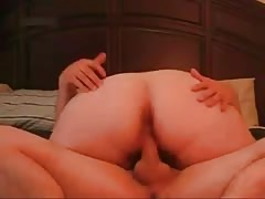 Horny Fat CHubby Teen crazy for riding cock