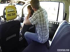 Sexy as fuck babe being fucked hard by horny driver